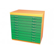 A1 Plan Chest With 10 Drawers