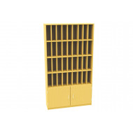 36 Compartment Pigeon Hole Post Unit With Cupboard