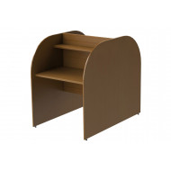 Deluxe Double Sided Panel End Study Carrel Starter Desk