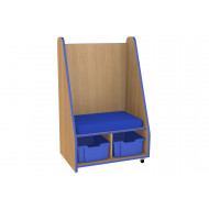 Bind Mobile Seat And Storage Unit