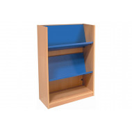 Nucleus Single Sided Bookcase With Reversible Shelf