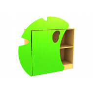 Living Planet Low Bookcase With Lily Pad Feature Door