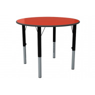 Nursery Height Adjustable Circular Classroom Table