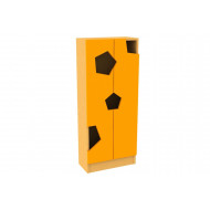 Living Planet Tall Cupboard With Honeycomb Doors