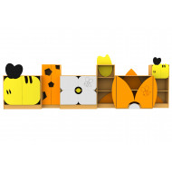 Living Planet Honey Bee Themed Bookcases Bundle Deal