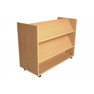 Little Angels Book Trolley With Display Shelf