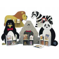 Single Sided Animal Themed Bookcases