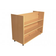 Little Angels Book Trolley With Flat Shelf