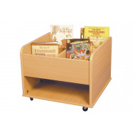Creche Mobile Kinderbox With Low Shelf