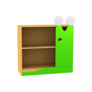 Living Planet Low Bookcase With Slug Feature Door