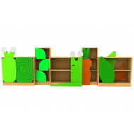 Living Planet Slug And Snail Themed Bookcases Bundle Deal