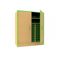 Beam Storage Cupboard With 21 Trays