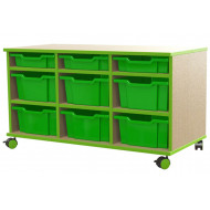 Beam Variety Tray Storage Unit With 6 Deep Trays And 3 Shallow Trays