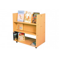 Little Angels Book Trolley With Angled Shelf