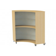 Nucleus Curve Single Sided Mobile Concave Bookcase
