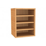 Wall Mounted Pigeon Hole Unit With 4 Compartments