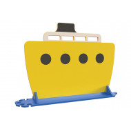 Boat Room Divider (Yellow)