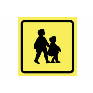 School Bus Reflective Sign