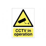 CCTV In Operation Reflective Sign