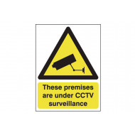 These Premises Are Under CCTV Surveillance Polycarbonate Sign