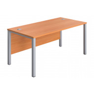 Progress H-Leg Narrow Rectangular Desk