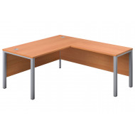 Progress H-Leg Right Hand L-Shape Desk