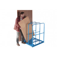 Deluxe Vertical Sheet Rack With Base