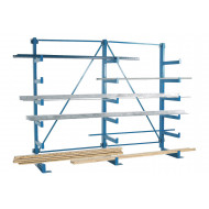 Cantilever Racking With Parallel Arms