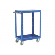 Reversible Tray And Shelf Trolley With 2 Shelves (150kg Capacity)