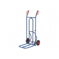 Folding Toe Sack Truck With Knuckle Guard Hand Grips (250kg Capacity)