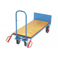 Premium Heavy Duty Three Way Sack Truck With Plywood Platform (400kg Capacity)