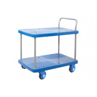 Proplaz Super Silent Two Tier Trolley (300kg Capacity)