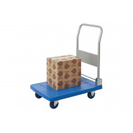 Proplaz Blue Small Platform Trolley (150kg Capacity)