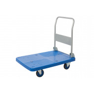Proplaz Blue Large Platform Trolley (300kg Capacity)