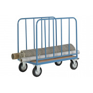 Platform Truck With 2 Tubular Bar Sides (500kg Capacity)
