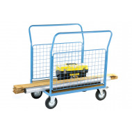 Platform Truck With Two Mesh Sides (500kg Capacity)