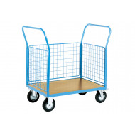 Platform Truck With Three Mesh Sides (500kg Capacity)