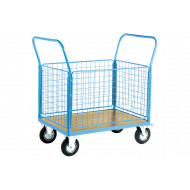 Platform Truck With Four Mesh Sides (500kg Capacity)