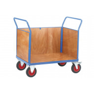 Fort Plywood Platform Truck With 3 Board Ends (500kg Capacity)