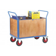 Fort Plywood Platform Truck With 4 Board Ends (500kg Capacity)