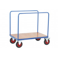 Fort Plywood Platform Truck With 2 Bar Sides (500kg Capacity)