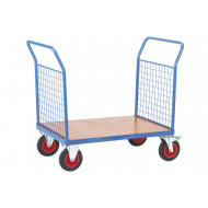 Fort Plywood Platform Truck With 2 Mesh Ends (500Kg Capacity)