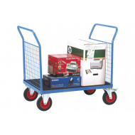 Fort Phenolic Platform Truck With 2 Mesh Ends (500kg Capacity)