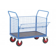 Fort Phenolic Platform Truck With Drop Mesh Side (500kg Capacity)