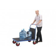 Fort Phenolic Platform Truck With Single Board End (500Kg Capacity)