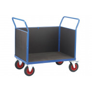 Fort Phenolic Platform Truck With 3 Board Sides (500kg Capacity)