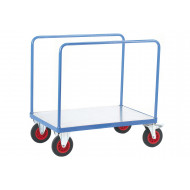 Fort Galvanized Platform Truck With 2 Tubular Sides (500kg Capacity)