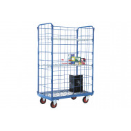 Narrow Aisle Distribution Truck With 2 Shelves And Sides