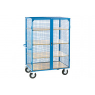 Heavy Duty Distribution Trolley With 3 Extra Shelves (500kg Capacity)
