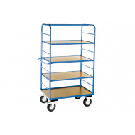 Heavy Duty Shelf Truck With 3 Shelves
